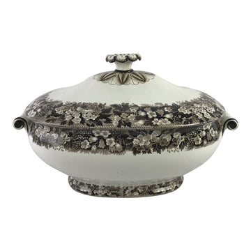 19th-C. Wedgwood Creamware Tureen
