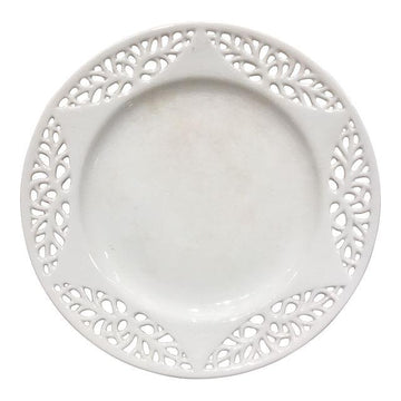 19th c. English Creamware Plate