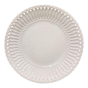 European Creamware Plate, 7 in
