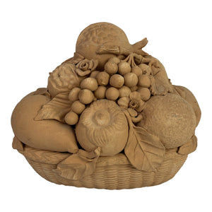 19th C. Italian Terracotta Fruit Basket