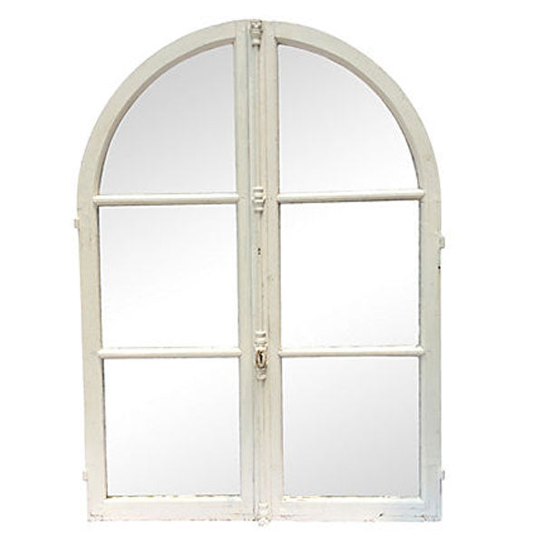 Antique-French-Arched-Windows-Pair