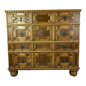 Early 20th C. Danish Carved Chest