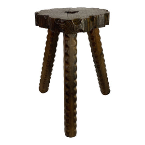 English Carved Stool