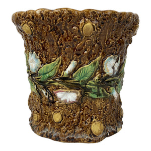 English Majolica Planter