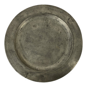 English Pewter Charger (Pair available)