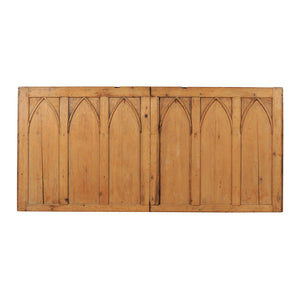 English Pine Church Panel