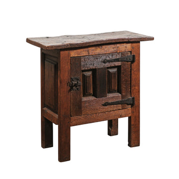 French Cabinet Side Table