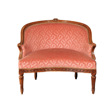 French Louis XVI Upholstered Chair