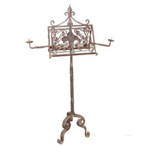 French-Wrought-Iron-Music-Stand
