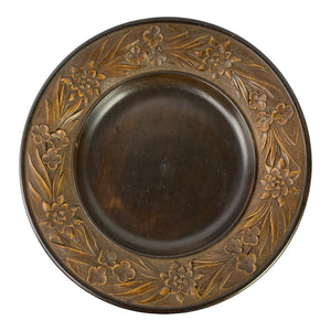 French Carved Plate