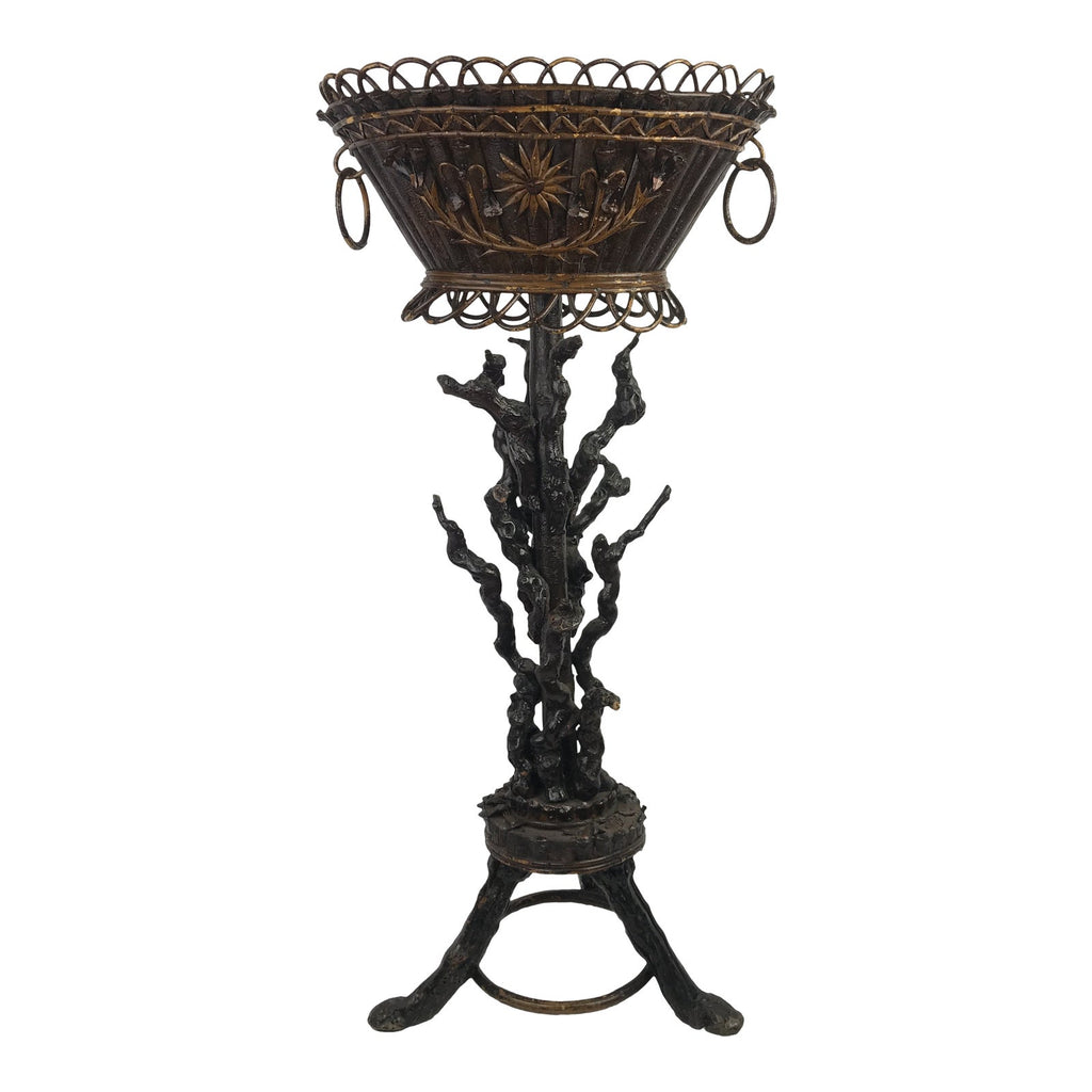 French Folk Art Jardiniere