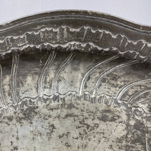 French Pewter Shallow Bowl
