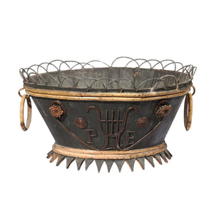 French Tramp Art Basket
