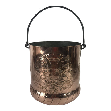 French 18th-C. Copper Pot