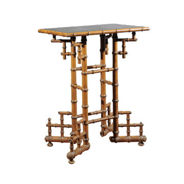 French Bamboo Table