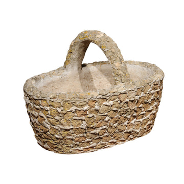 French Concrete Basket