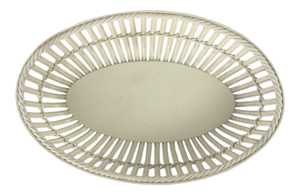 French Creamware Basket