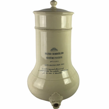 French Creamware Water Filter