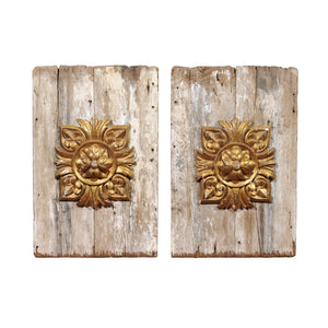 Pair of 19 C. French Gilt Panels