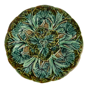 Swedish Majolica Plate (pair available)