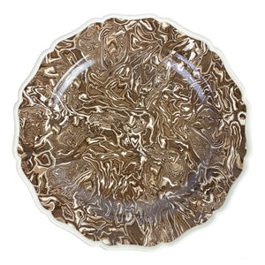 French Aptware Brown Plate (6 available)