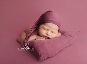 Newborn Posing Pillow with Matching Hat - Design by C Maternity