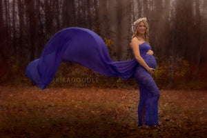 Shevy Sheer Maternity Dress for Photoshoot - Design by C Maternity