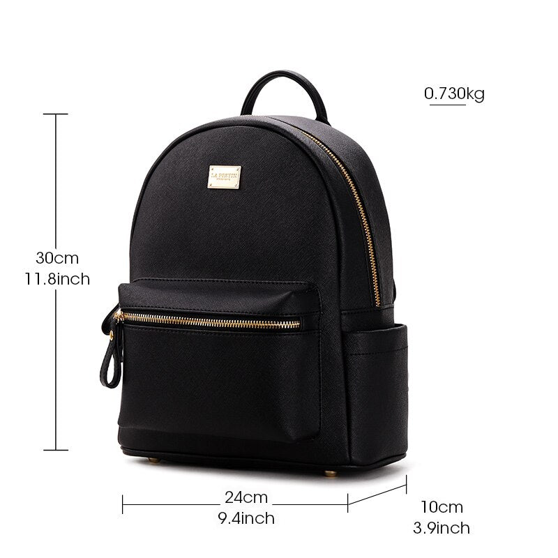 LA FESTIN Brand Genuine Leather Backpack - BeosBag.com