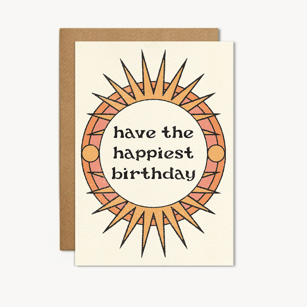Have the Happiest Birthday Card - cai & jo