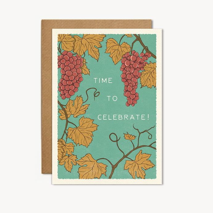 Time to Celebrate Card - cai & jo