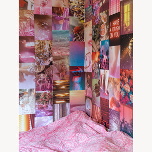 Pink Glow Collage Kit - cai & jo
