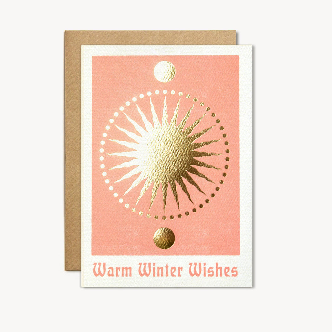 Warm Winter Wishes Card - cai & jo