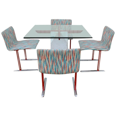 Giovanni Offredi Paracarro Table & Chairs