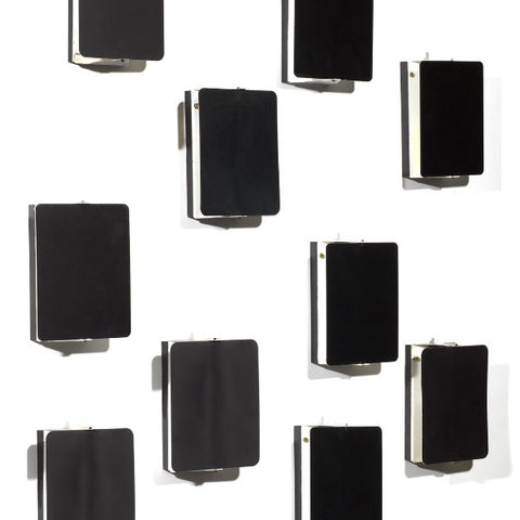CP1 Black Wall Lights by Charlotte Perriand
