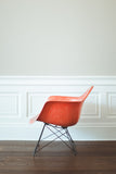 Orange LAR Armchair by Charles & Ray Eames