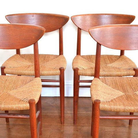 Peter Hvidt & Orla Mølgaard 316 Dining Chairs