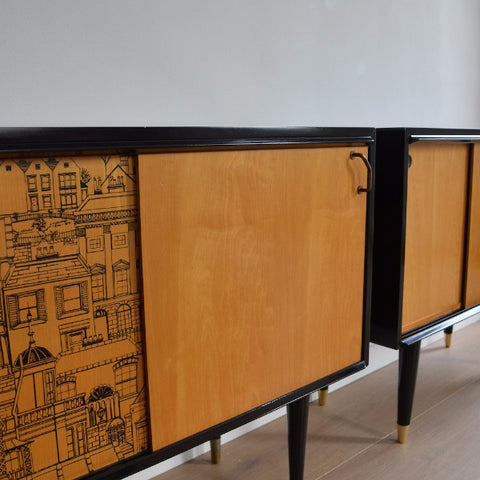 Two Small Sideboards by Robert & Dorothy Heritage