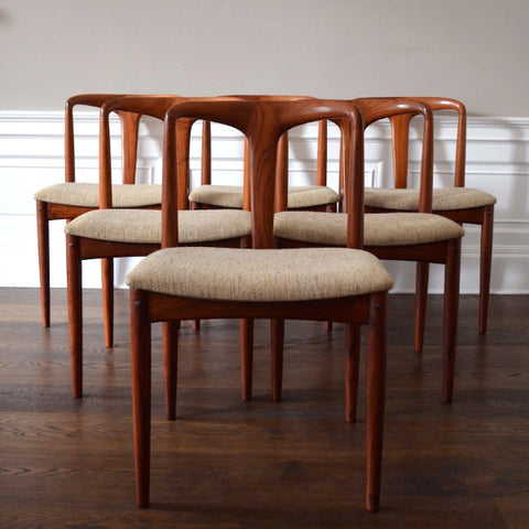 6 'Juliane' Dining Chairs by Johannes Andersen