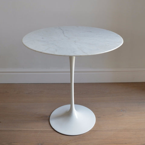 Marble 'Tulip' Side Table by Eero Saarinen for Knoll