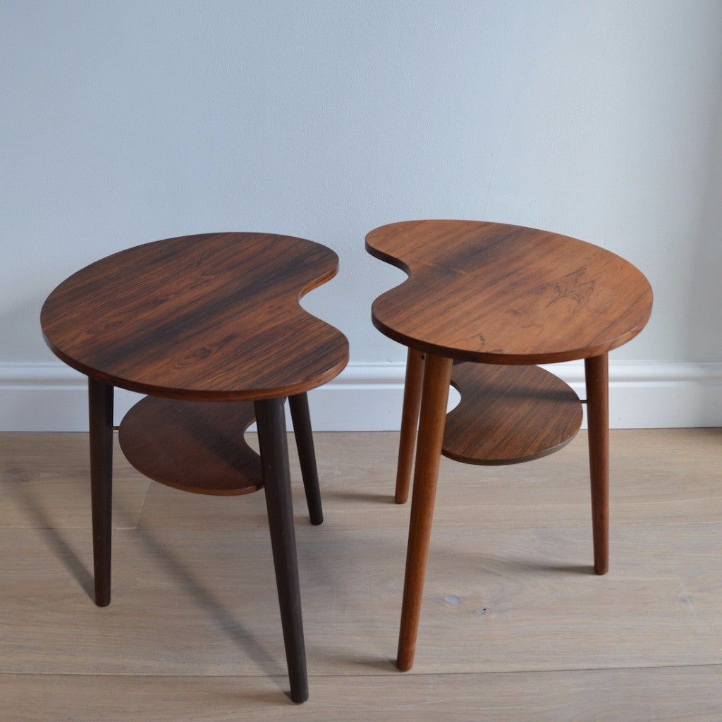 Pair of L. Chr Larson and Son Side tables