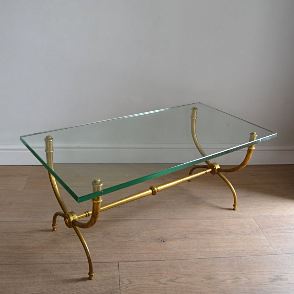 Ramond Subes Glass Coffee Table