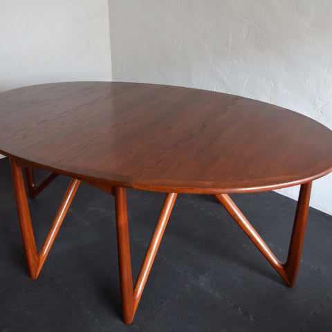 Kurt Østervig Folding Teak Dining Table