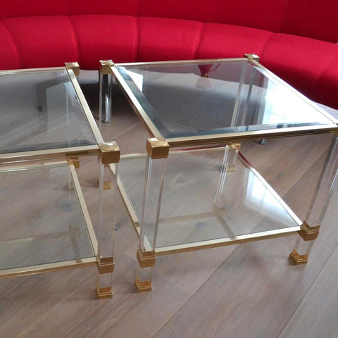 Pierre Vandel Side Tables