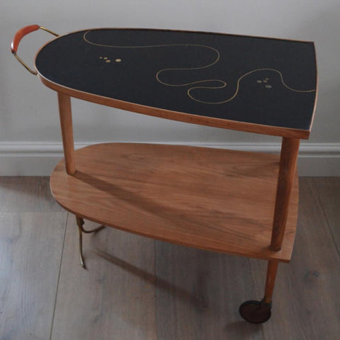 Italian Inlaid Drinks Trolley