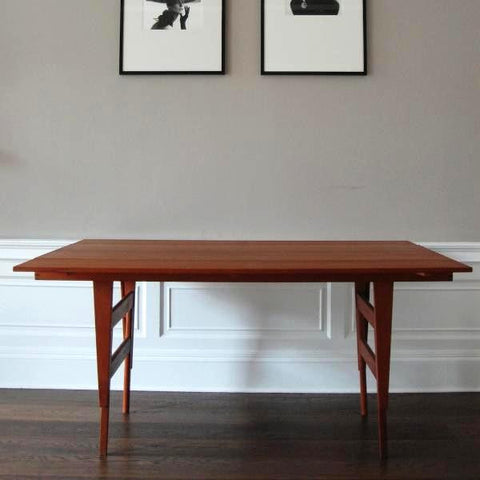 Adjustable Danish Coffee Table & Dining Table