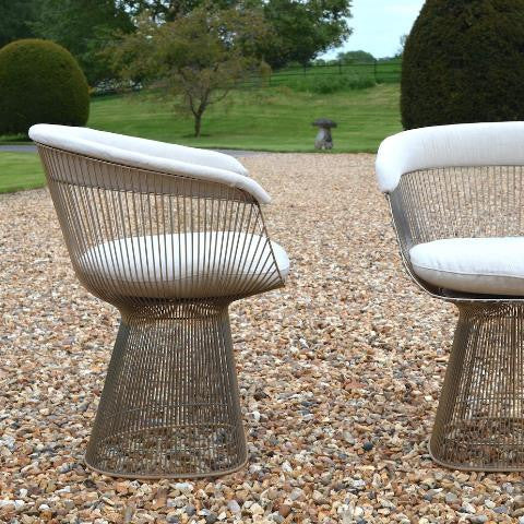 Pair of Warren Platner Chairs