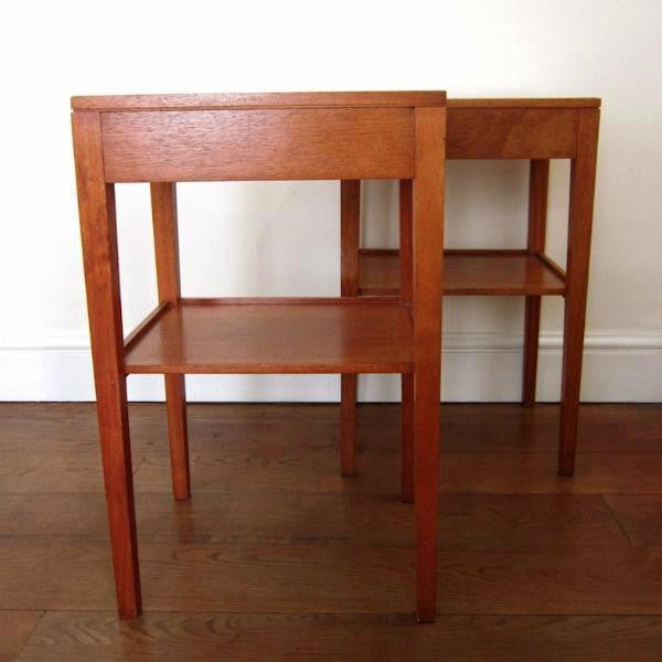 Remploy Teak Side Tables