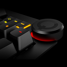 Dedicated Media Controls with Oversized Q Button / Volume Knob