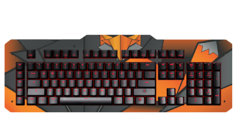 Das Keyboard Limited Edition Fox Top Panel for the X40 Gaming Mechanical Keyboard