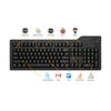 Das Keyboard 4Q Cherry MX Brown RGB Smart Mechanical Keyboard